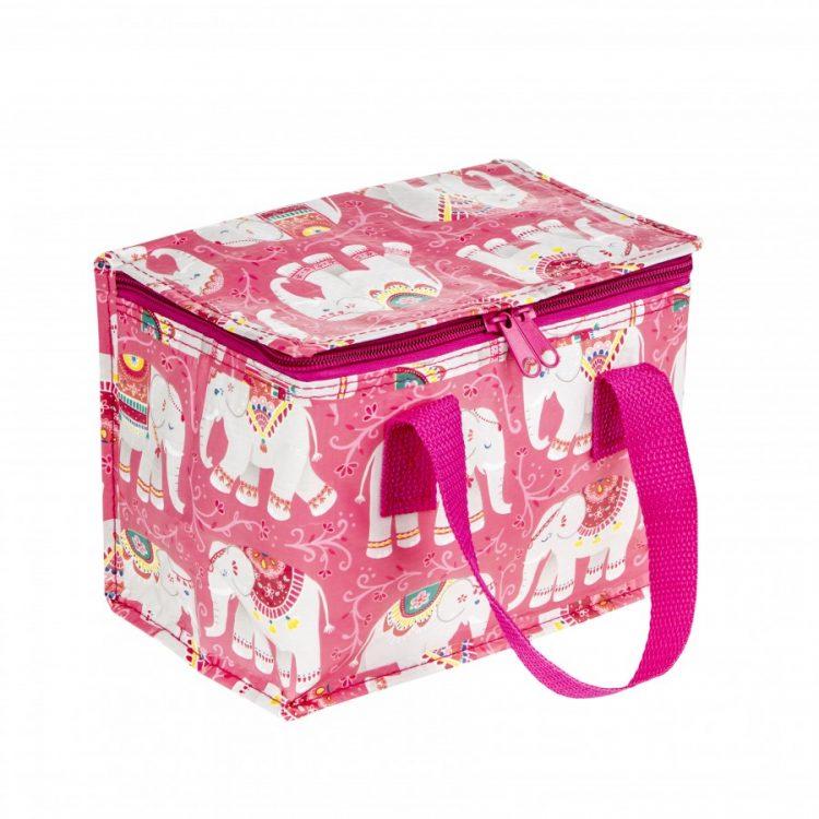 bolsa termica elefantes rosa