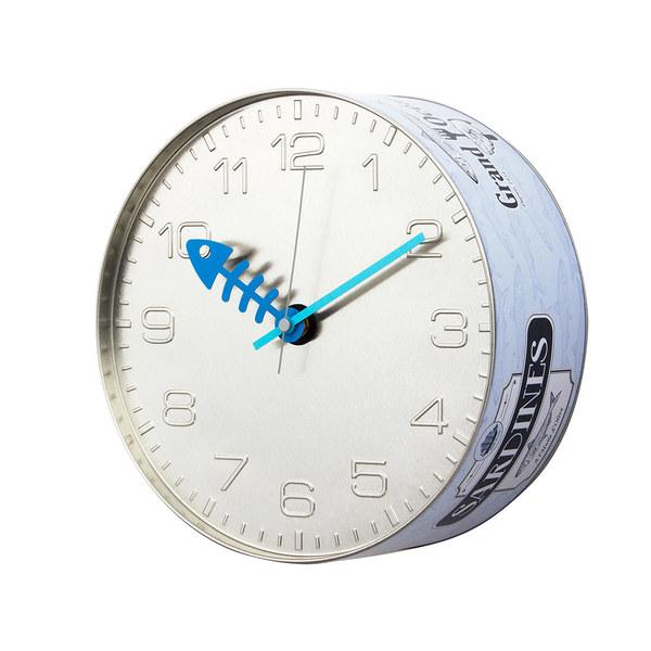 reloj ocean sardinas gris azulado