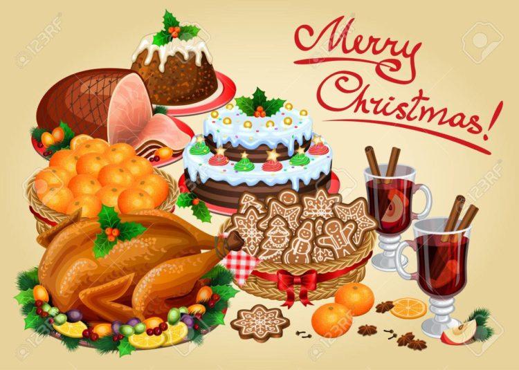 menu de navidad cena comida postres aperitivos