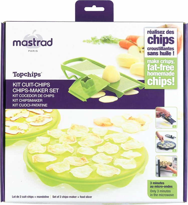 patatas chips cocedor microondas
