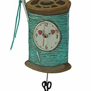 reloj pared bobina coser