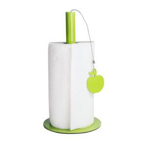 soporte papel cocina manzana