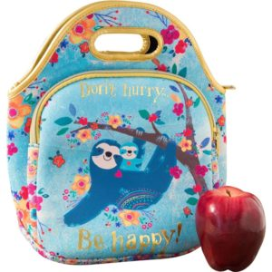 bolsa isotermica 2 bolsillos cremallera don´t hurry be happy